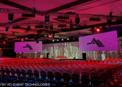 12 VCI Event Technologies Triangle Projection Screen