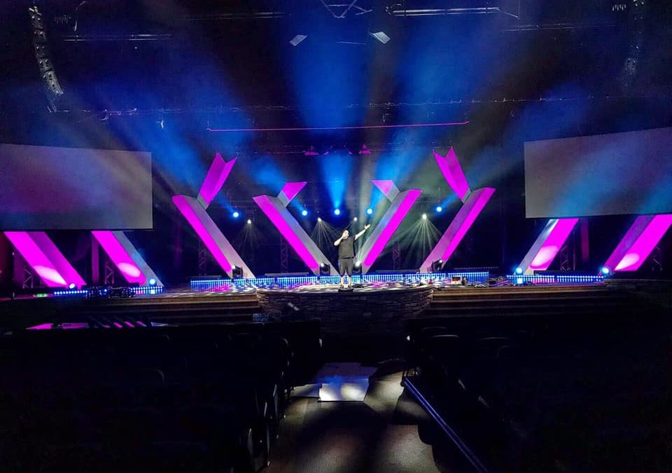 Church Stage Backdrops | Call For Stage Design Assistance