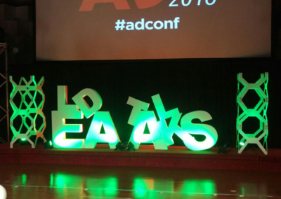 AD Conference - Agon panels and tower brackets