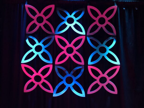 Church Stage Backdrops Pinwheel 123