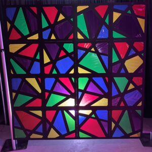 Church Stage Design Stained Glass Mod Scenes 1